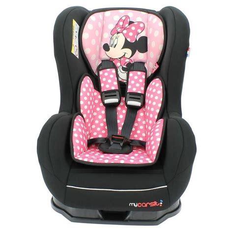 assise siege auto siège auto disney de 0 à 18 kg avec protections latérales