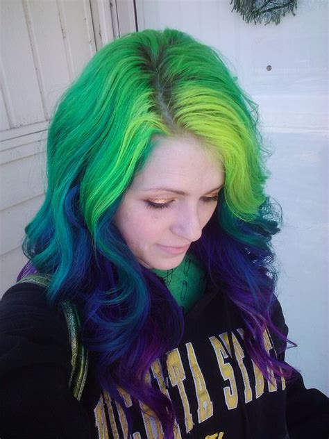 17 Best Images About Crazy Hair Color On Pinterest