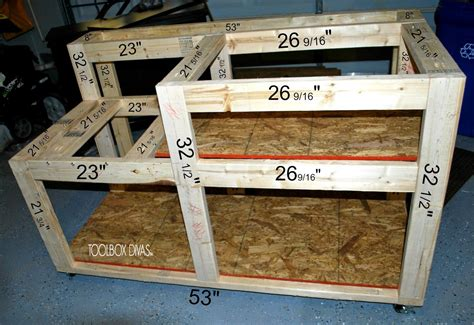 table  workbench  wood storage table  workbench diy table  woodworking bench