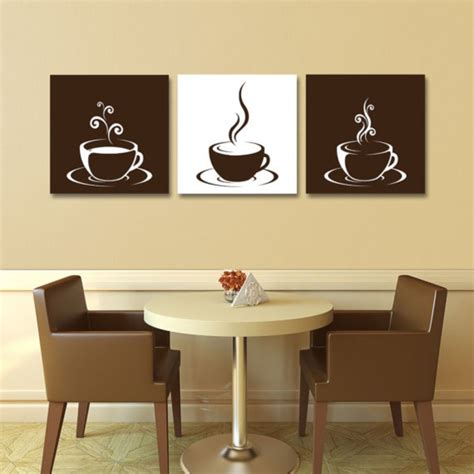 Not only the simple diy home decor projects but some special traditional embellishing for the events can also be nicely created out of the coffee filters! 61 Inspiring Kitchen Wall Art Ideas to Makes You More Comfortable | Coffee wall art, Kitchen ...