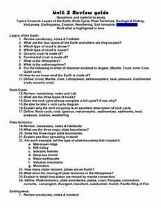 Unit 2 Review Guide