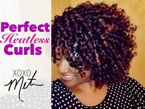 Flexi Rod Set On Medium Length Hair Natural Hair Tutorial