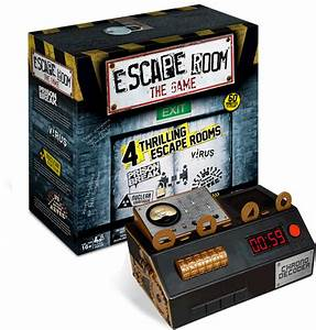 Escape Room The Game Thrilling And Mysterious Board Game