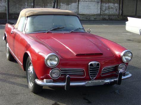 Alfa Romeo 2000 Spider Alfa Romeo 2000 Spider 1962