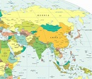 Political Map of Asia - Free Printable Maps