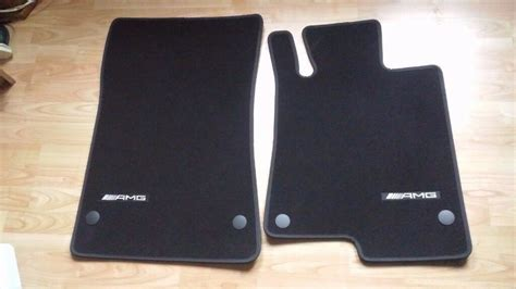 genuine mercedes benz slk slc amg floor mats  leith