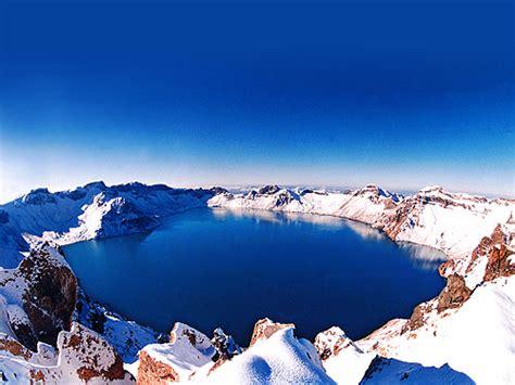 Changbai Mountain China Heavenly Lake