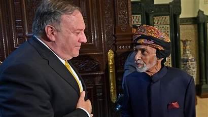 Oman Pompeo Sultan Qaboos Ports Military Secretario