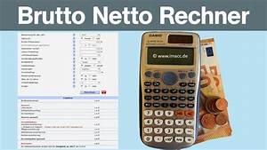 Nettogehalt Berechnen 2016 : nettolohnrechner brutto netto rechner m imacc ~ Themetempest.com Abrechnung