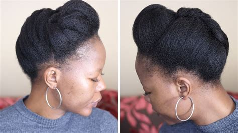 Style your natural hair in 10 minutes Protective styling