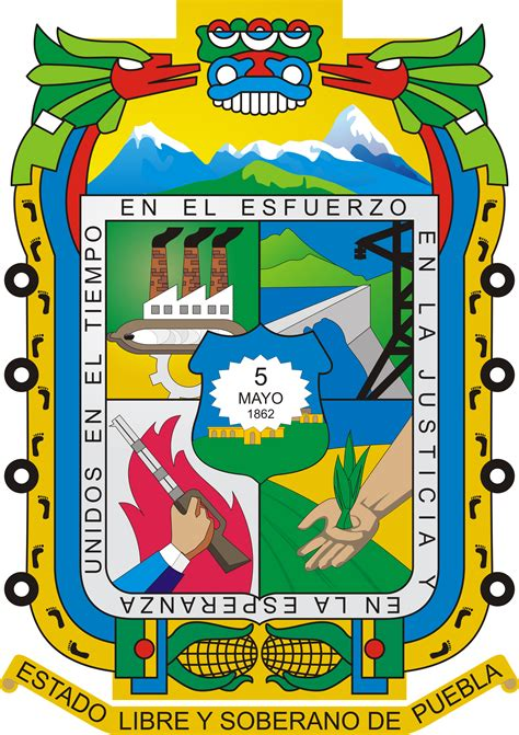 foto de Escudo de Puebla Wikipedia la enciclopedia libre
