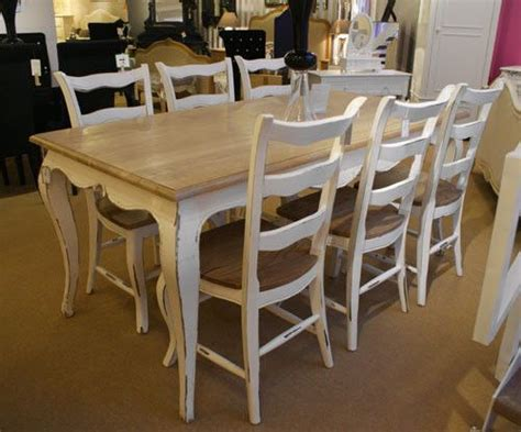 shabby chic dining table birmingham shabby chairs and french on pinterest