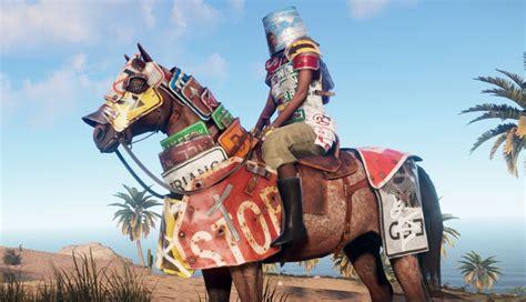 rust armor horse