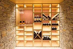 Construire Une Cave Voutée En Pierre : cr ation d 39 une cave vin contemporain cave vin ~ Zukunftsfamilie.com Idées de Décoration