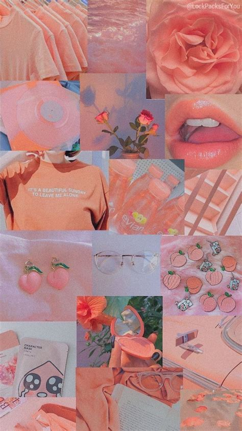 aesthetic vintage peach background hd wallpapers