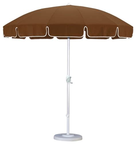 california umbrella 8 5 ft aluminum push button tilt