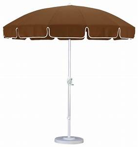California umbrella 85 ft aluminum push button tilt for Modern outdoor patio umbrellas