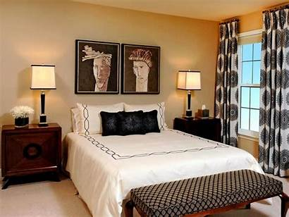 Decorating Bedroom Window Treatment Windows Curtains Patterned