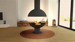Cheminée Bois Design : chemin e design mezzofocus bois youtube ~ Premium-room.com Idées de Décoration
