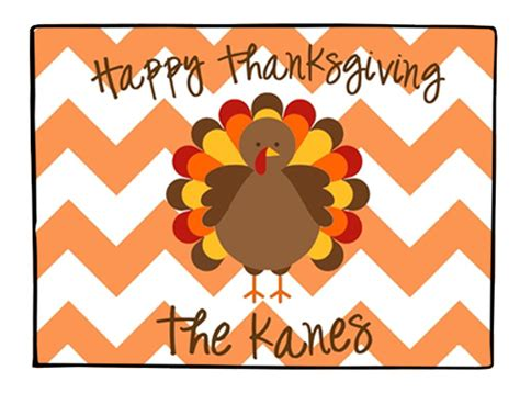 Thanksgiving Doormat by Doormat Personalized Thanksgiving Turkey