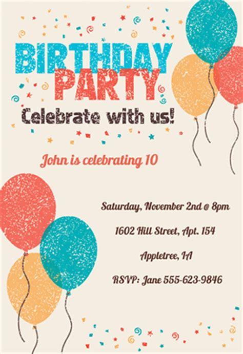 www celebrate it templates 18 birthday invitations for free sle templates birthday invitations templates