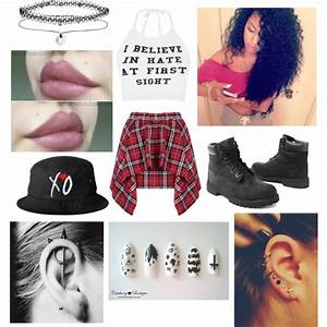 punk rock outfits tumblr for school - Google Search | Cute ...