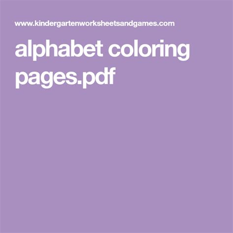 alphabet coloring pages  images alphabet coloring