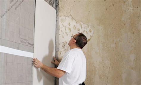 plaque isolation mur interieur doubler un mur avec des plaques de pl 226 tre