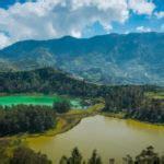 trekking nuansa pedesaan  villa ratu ciawi bogor garis