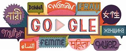 International Doodles Womens Google Logos