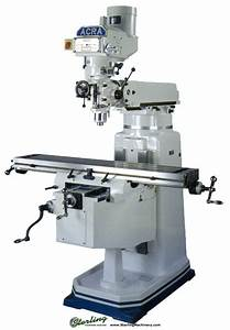 Brand New Acra Vertical Milling Machine (Step Pulley