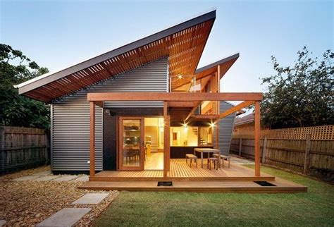 industrial modern roof design tiny house in 2019