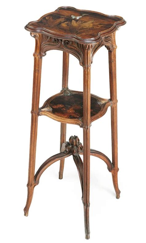 emile gall 233 1846 1904 nancy mahogany table with