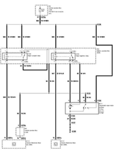 1999 Tauru Wiper Wiring Diagram by 2000 Ford Taurus Fuse Box Windshield Wipers Unlimited