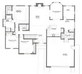one story open floor plans single family models castle builders llc