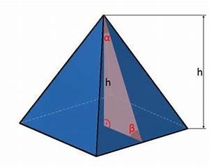 Fläche Dreieck Berechnen Formel : pyramide kanten fl che volumen einer pyramide berechnen ~ Themetempest.com Abrechnung