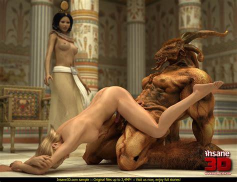 Huge Monster For Egyptian Empress Monster Sex Case