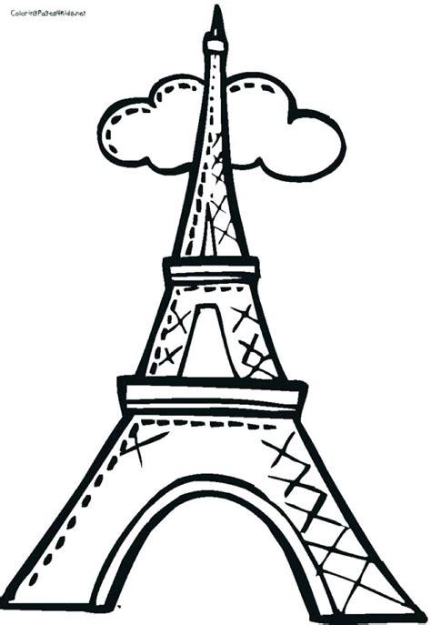 eiffel tower drawing  getdrawings