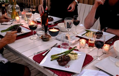 Carlyklock Summer Dinner Party Menu