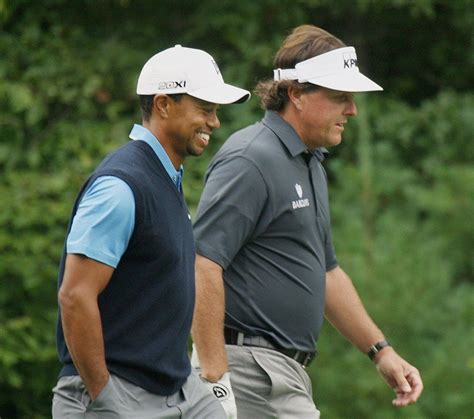 My top two favorite players! Mr. Tiger Woods and Mr. Phil ...