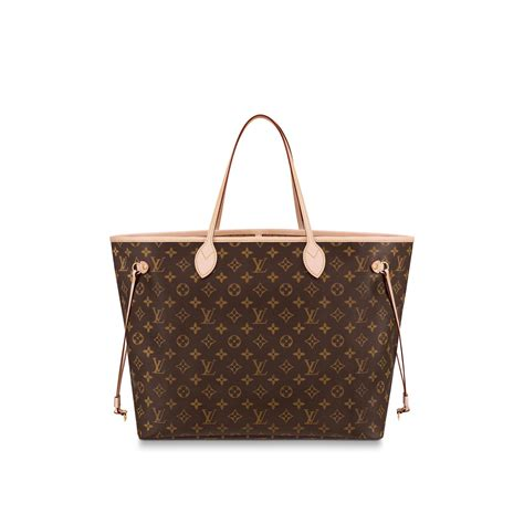 neverfull gm monogram  brown handbags  louis vuitton