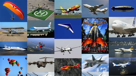 Airplanes / Aeroplanes & Air Vehicles