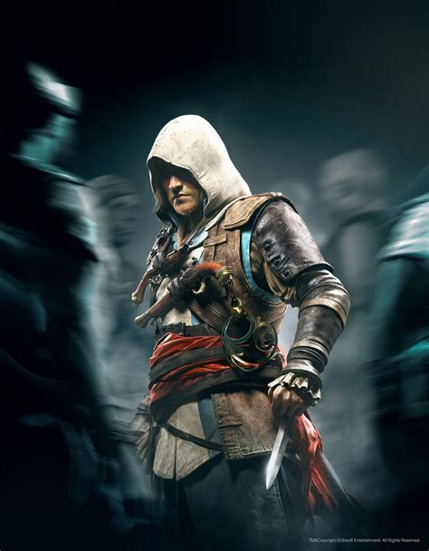 Edward Kenway Assassins Creed Hugo Deschamps On