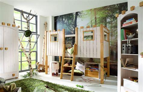 Kinderhochbett Als Ritterburg Aus Holz  Kids Paradise