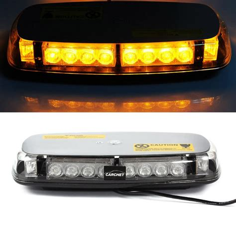 emergency lights for cars carchet car vehicle roof light 24 led emergency warning