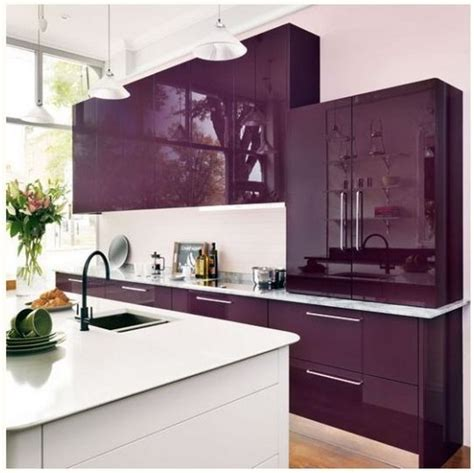 purple kitchens design ideas 80 cool kitchen cabinet paint color ideas 4457
