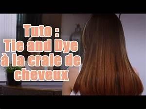 Comment Faire Un Tie And Dye : comment r aliser un tie and dye avec de la craie de cheveux youtube ~ Melissatoandfro.com Idées de Décoration