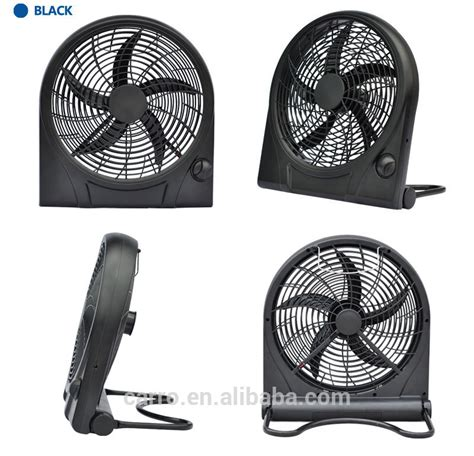 solar powered box fan portable dc power solar box fan 10 inch rechargeable box