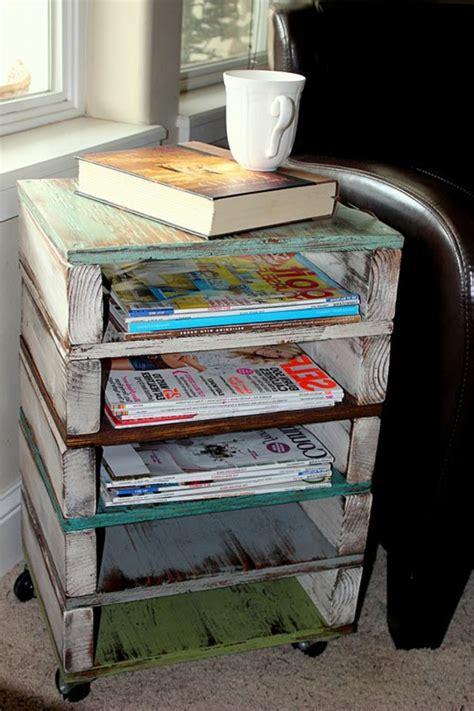 comment transformer une cuisine rustique en moderne 50 idées pour une table basse avec palette
