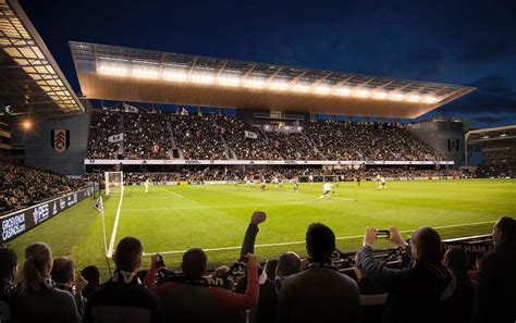 craven cottage seating plan new images fulham s riverside stand project to create